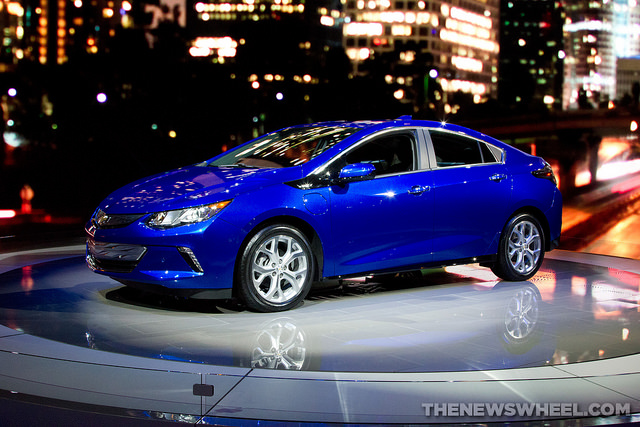 Advertising the 2017 ChevyVolt